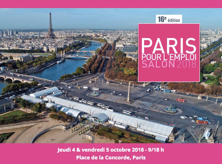 16ème édition de « Paris pour l'Emploi »